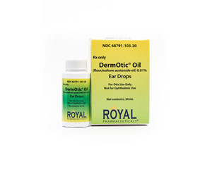 DermOtic<sup>®</sup> Oil Ear Drops