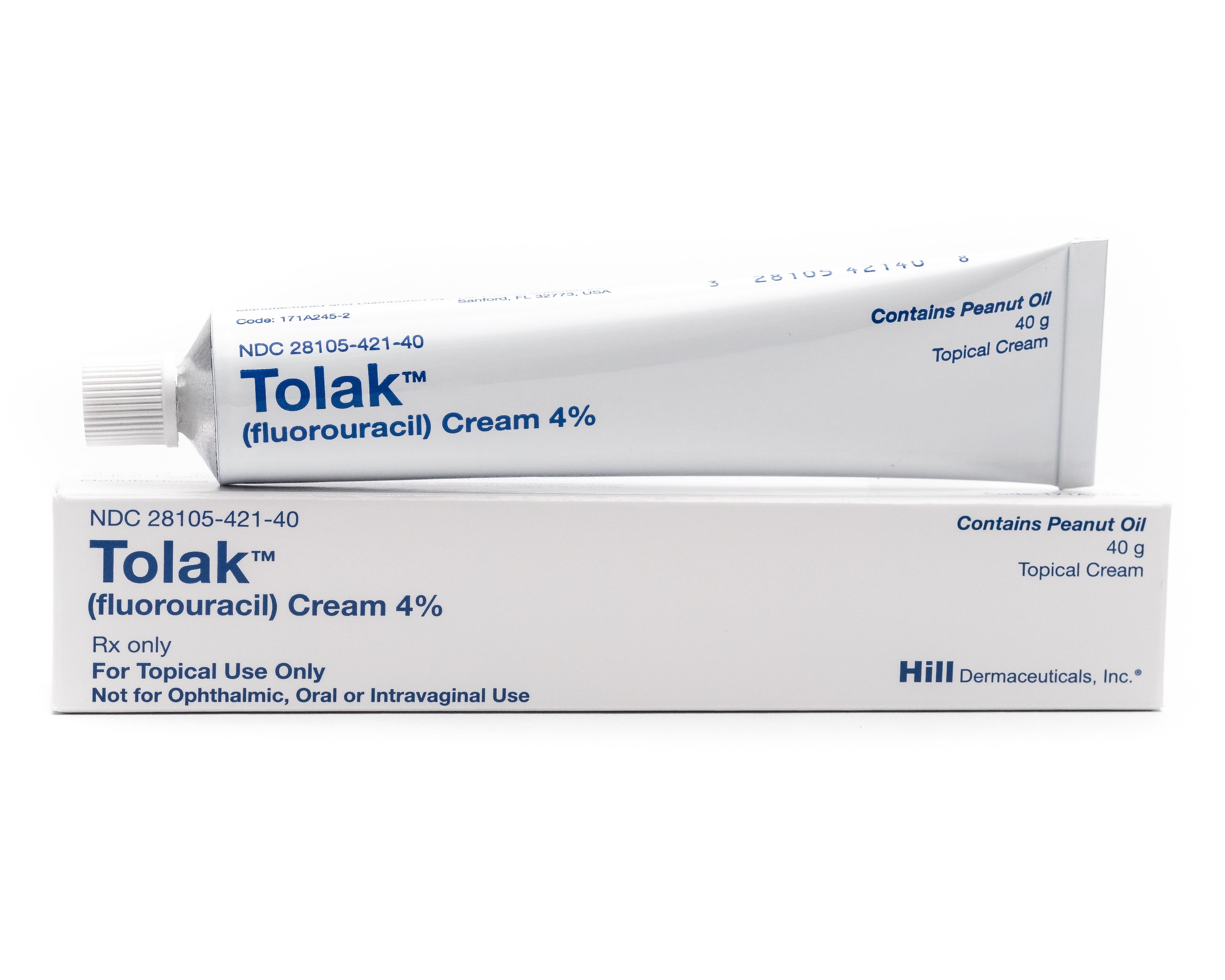 Tolak<sup>®</sup> (fluorouracil) Cream 4%