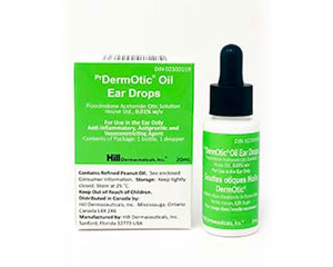 Canada – <sup>Pr</sup>DermOtic<sup>®</sup> Oil Ear Drops